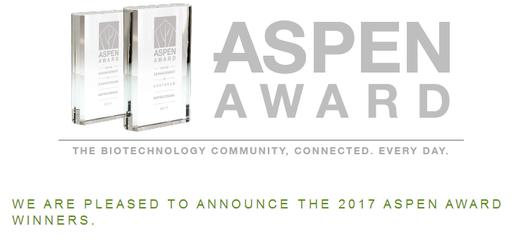 Congratulations to KAISER  for winning 2017 ASPEN AWARD